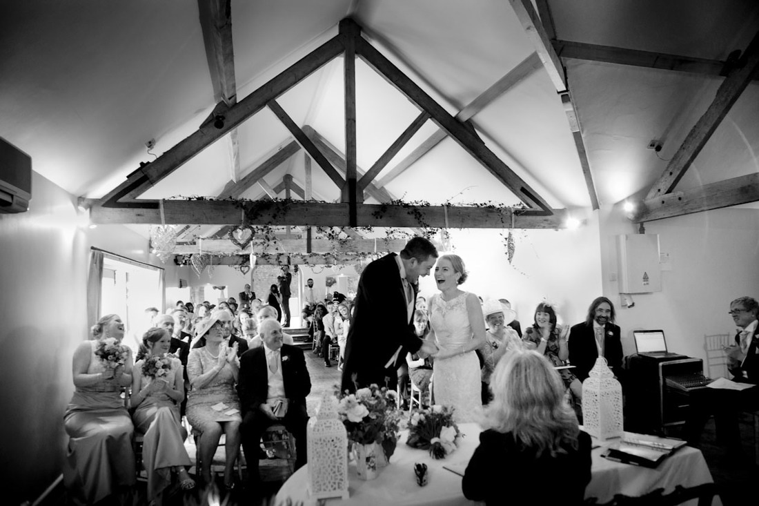 Wedding photography Farbridge Barns Chichester