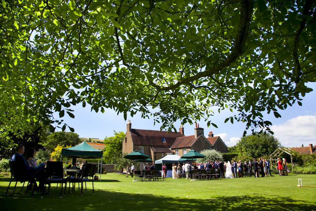 Pangdean Barn wedding venue Sussex