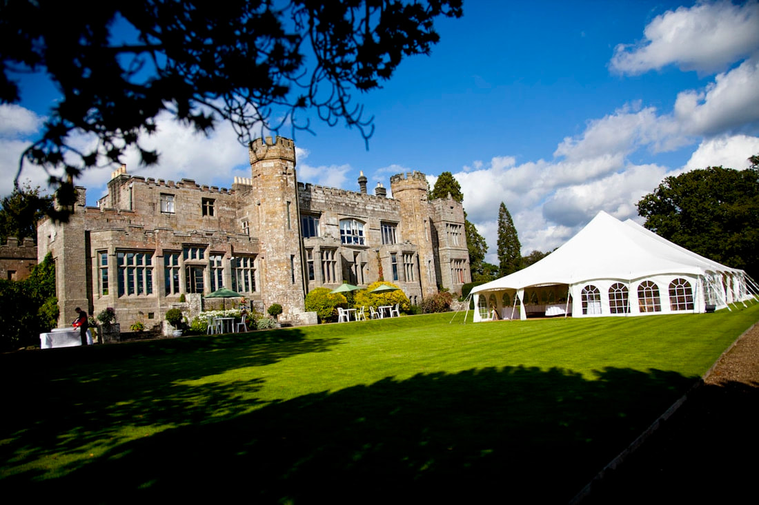 Wadhurst Castle wedding venue in Sussex