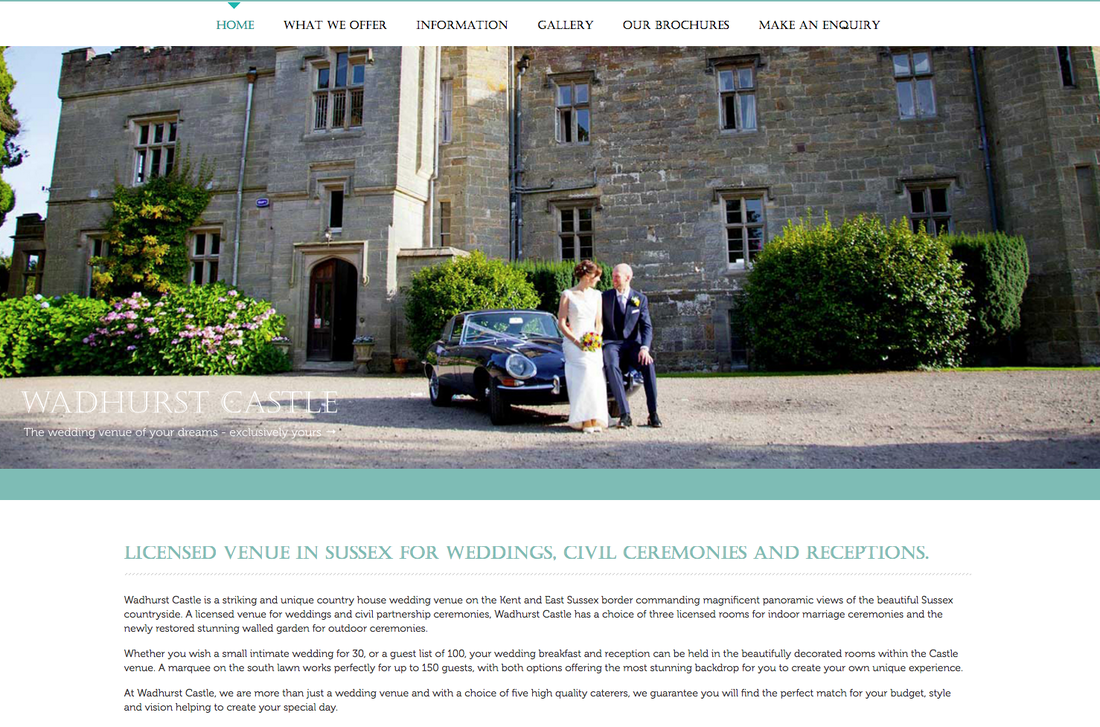 Wedding photography at Wadhurst Castle, Sussex