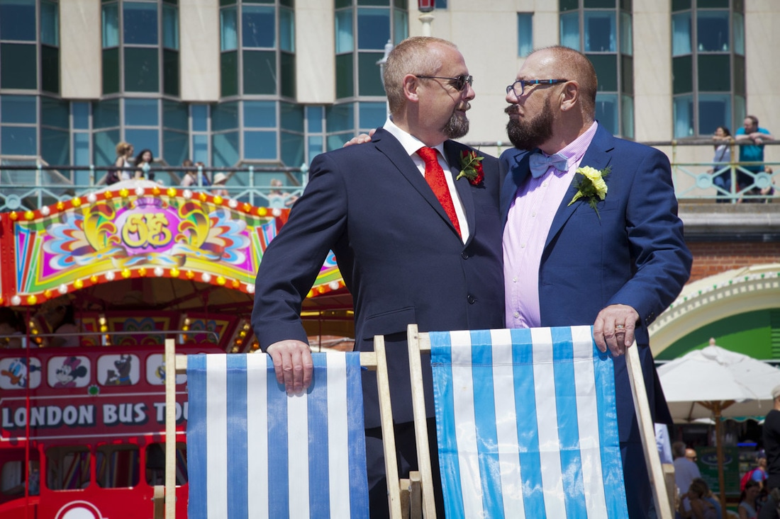 Civil Partnership Wedding Photographer Brighton